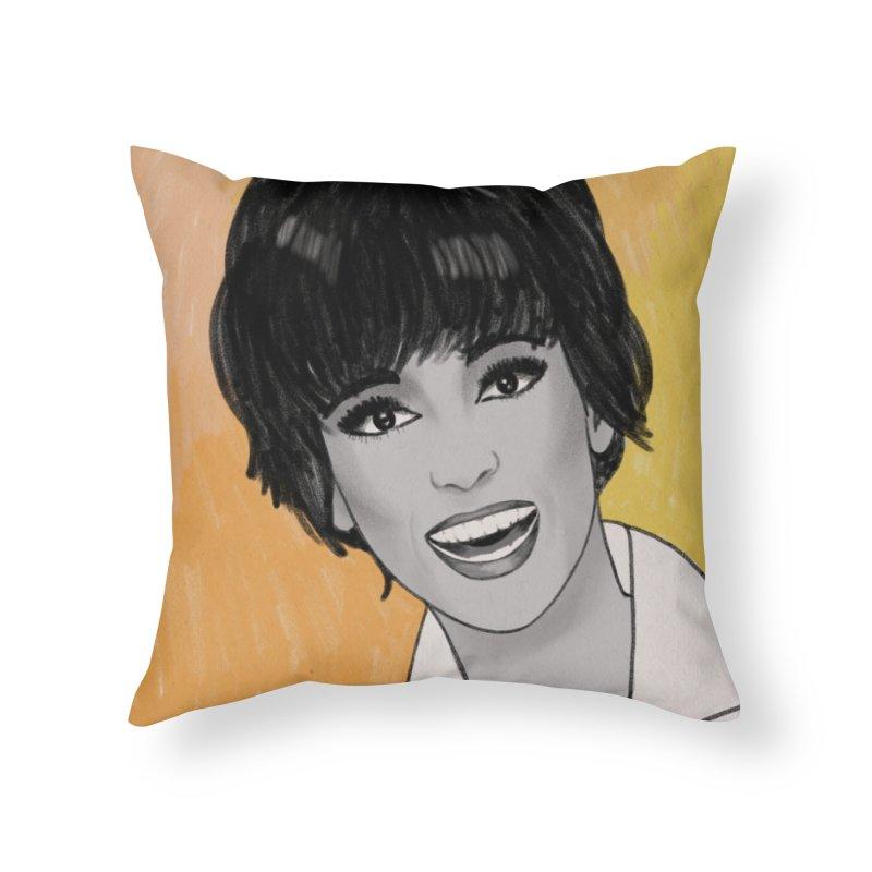 Rita Moreno Home Throw Pillow by Kate Gabrielle's Threadless Shop