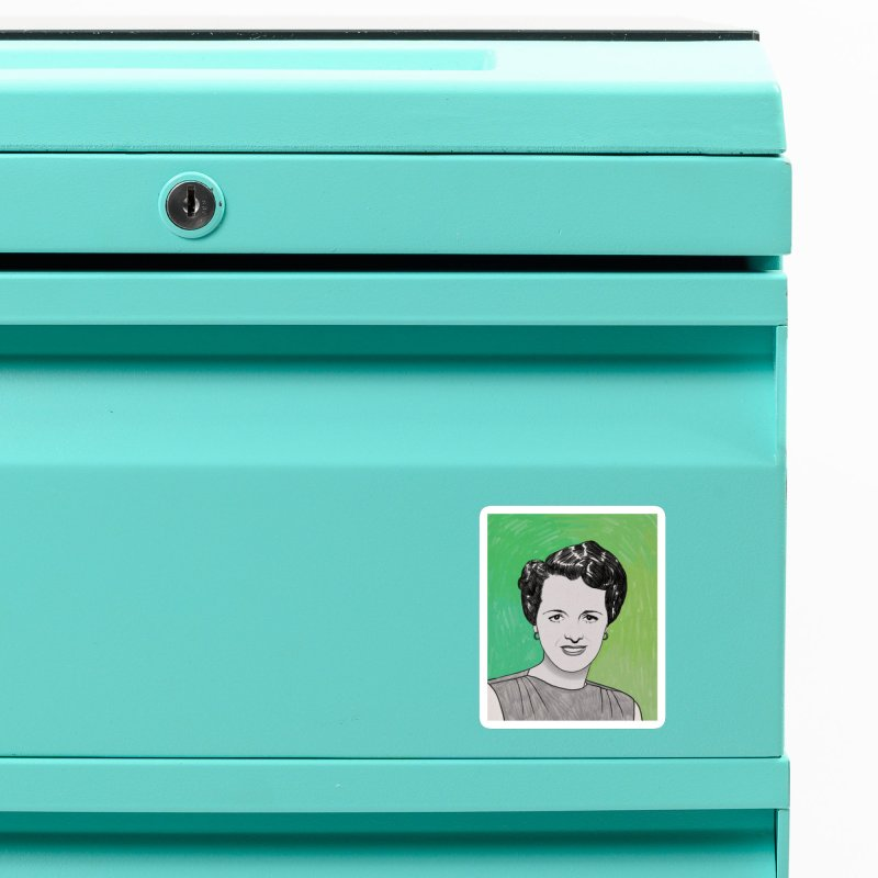 Mary Astor Accessories Magnet by Kate Gabrielle's Threadless Shop