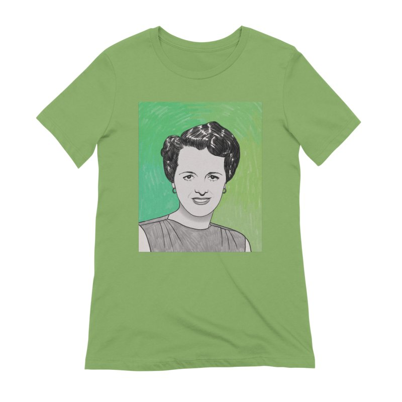 Mary Astor Women's Extra Soft T-Shirt by Kate Gabrielle's Threadless Shop