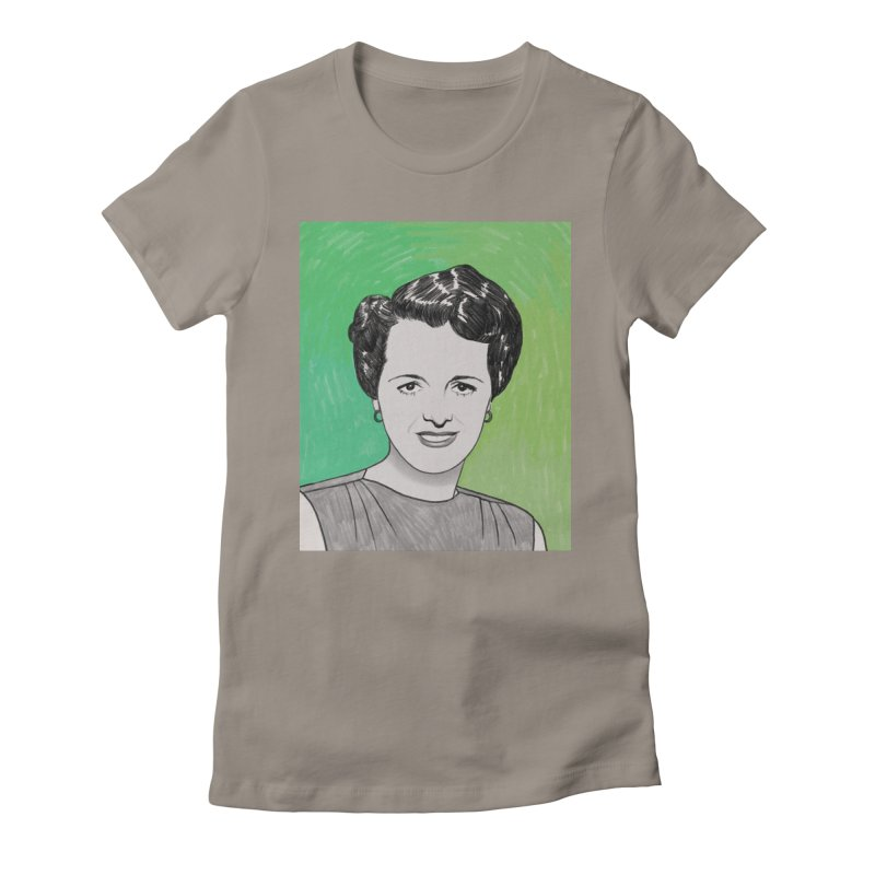 Mary Astor Women's Fitted T-Shirt by Kate Gabrielle's Threadless Shop