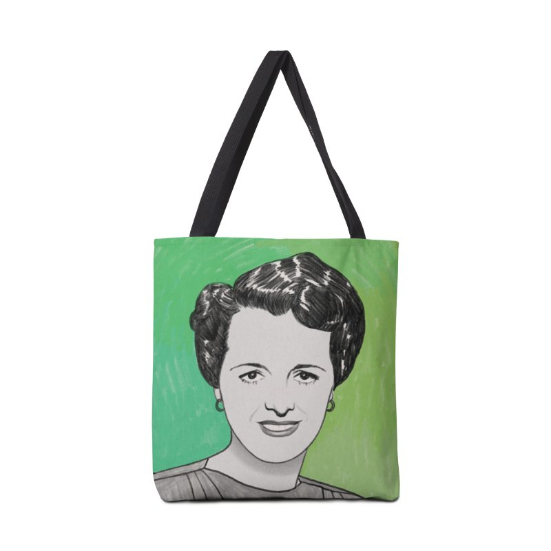 Mary Astor Accessories Tote Bag Bag by Kate Gabrielle's Threadless Shop