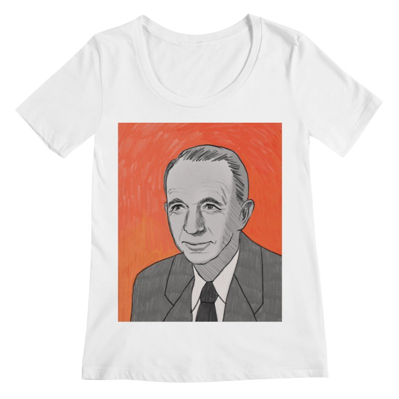 Walter Brennan Women's Regular Scoop Neck by Kate Gabrielle's Threadless Shop