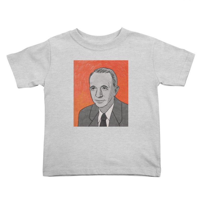 Walter Brennan Kids Toddler T-Shirt by Kate Gabrielle's Threadless Shop