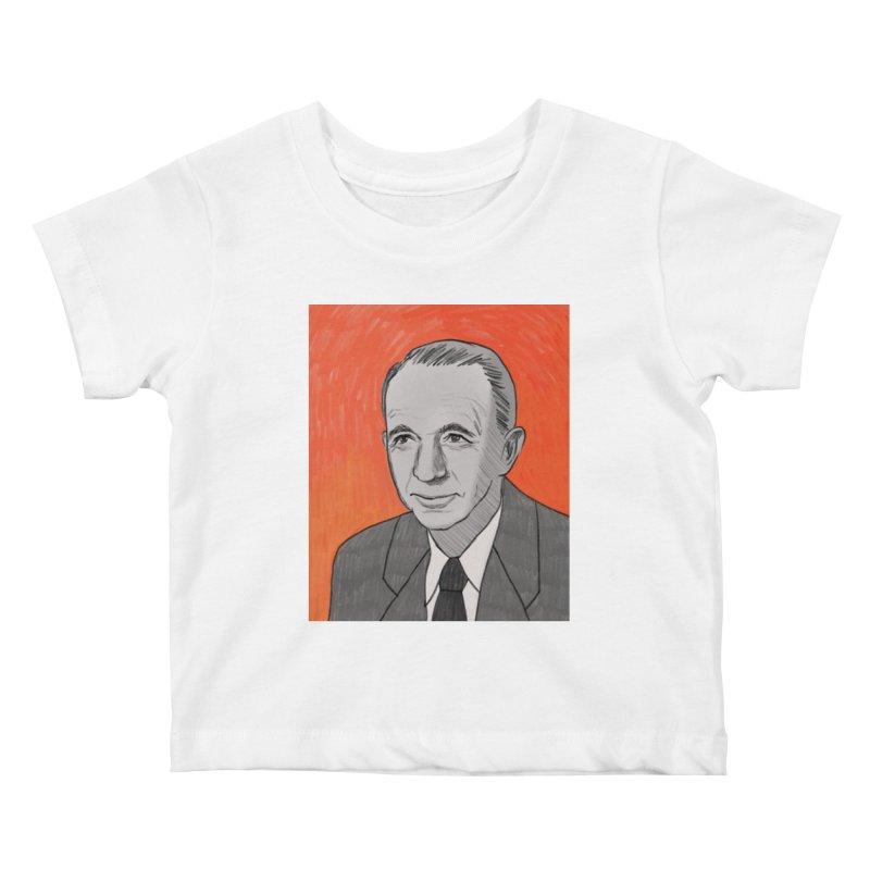 Walter Brennan Kids Baby T-Shirt by Kate Gabrielle's Threadless Shop