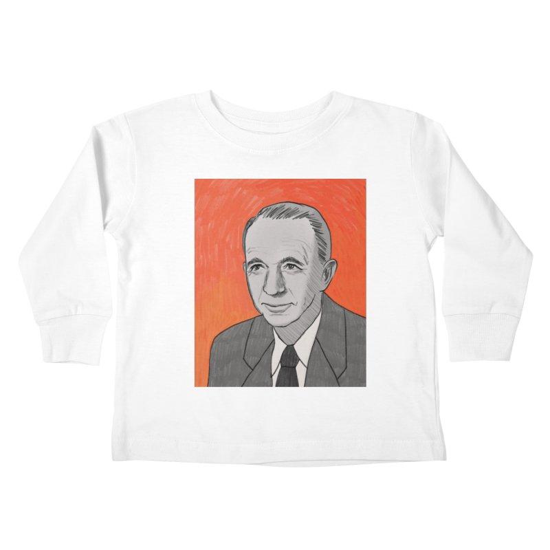 Walter Brennan Kids Toddler Longsleeve T-Shirt by Kate Gabrielle's Threadless Shop