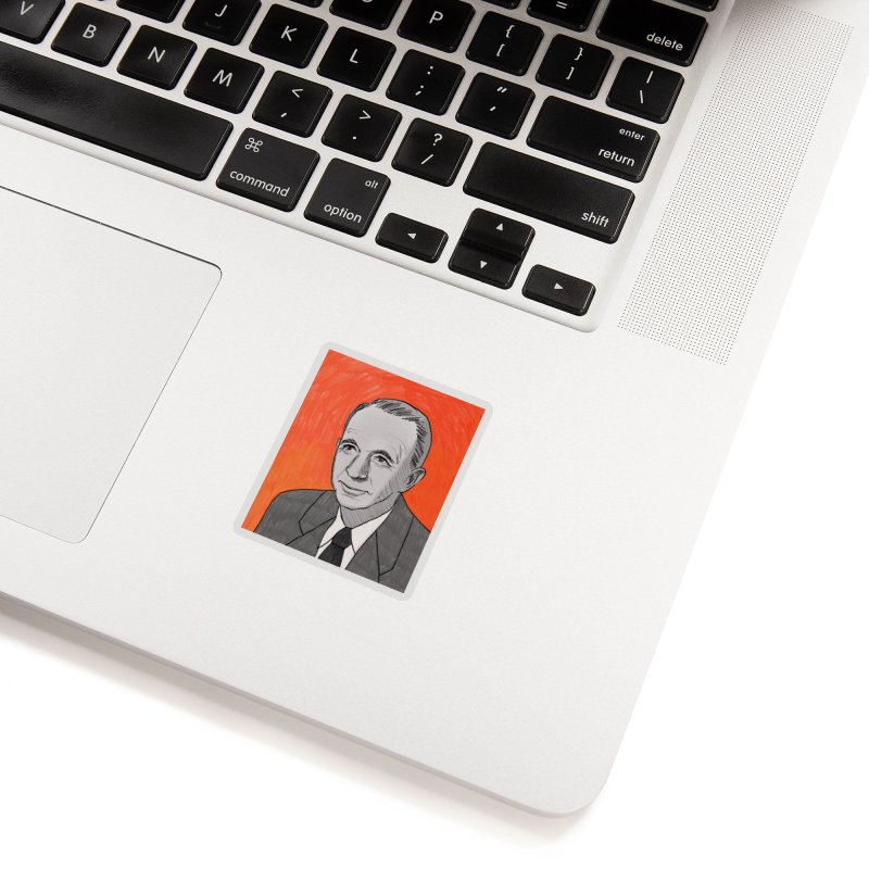 Walter Brennan Accessories Sticker by Kate Gabrielle's Threadless Shop