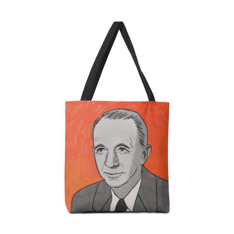Walter Brennan Accessories Tote Bag Bag by Kate Gabrielle's Threadless Shop
