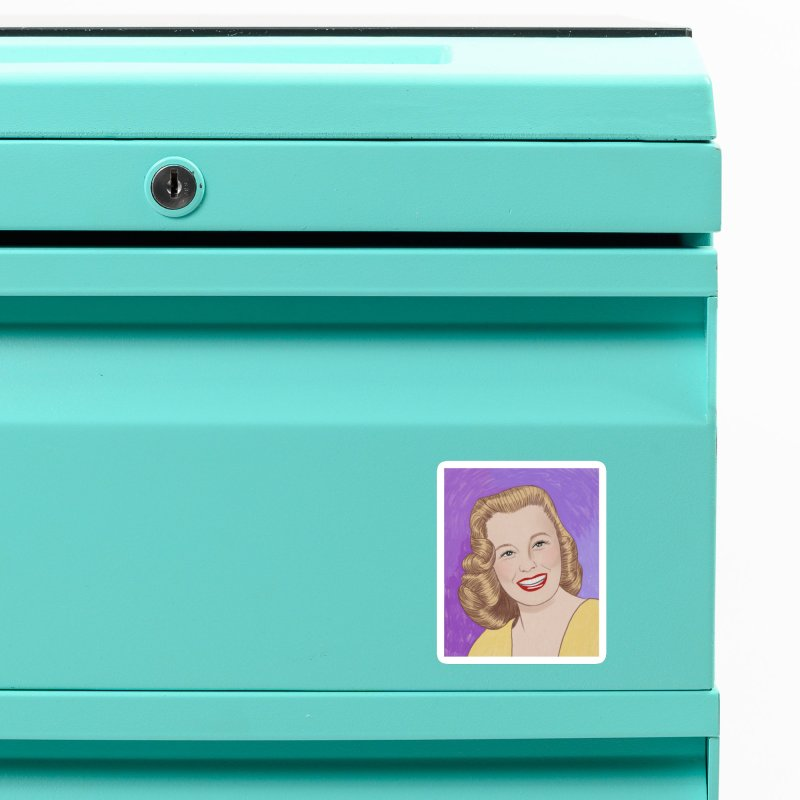 June Allyson Accessories Magnet by Kate Gabrielle's Threadless Shop