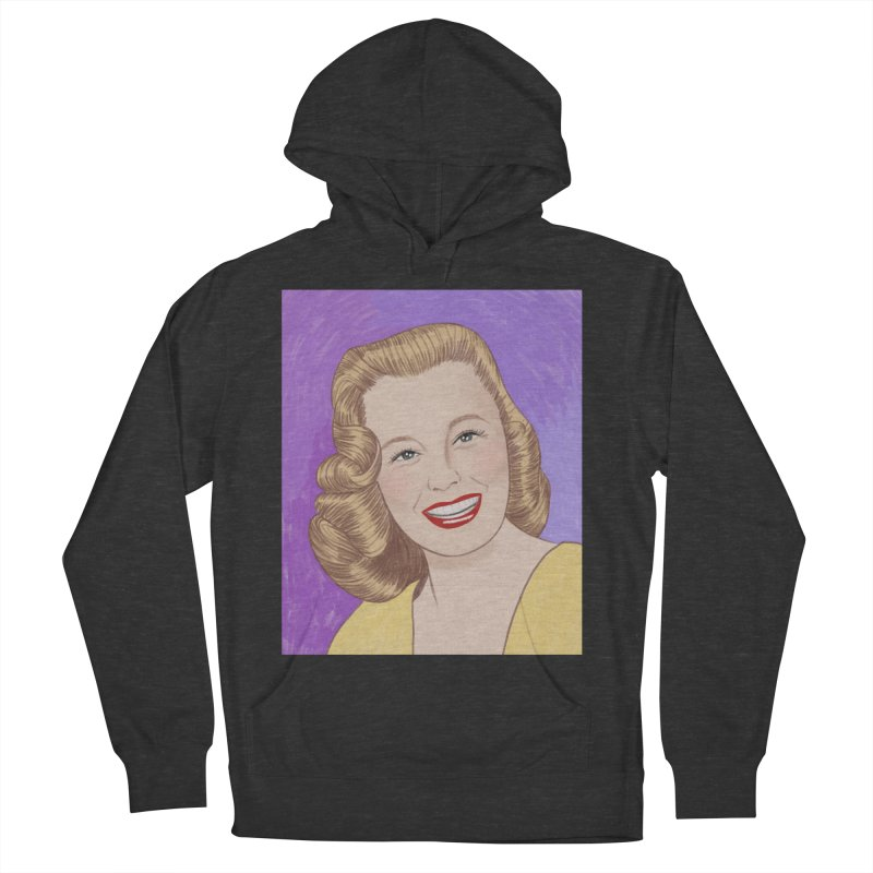 June Allyson Women's French Terry Pullover Hoody by Kate Gabrielle's Threadless Shop