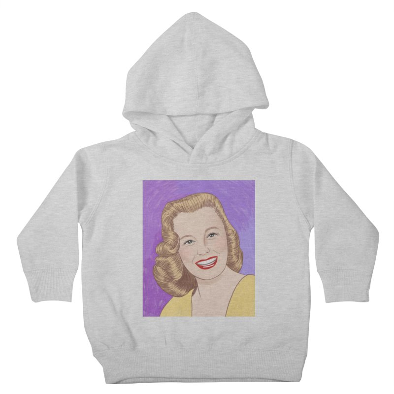 June Allyson Kids Toddler Pullover Hoody by Kate Gabrielle's Threadless Shop