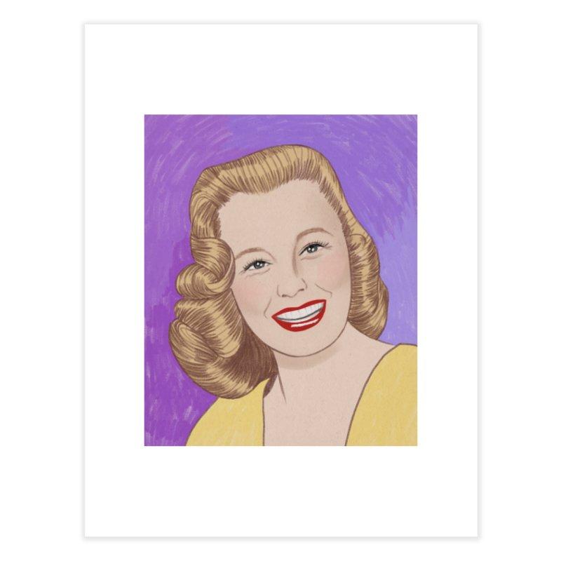 June Allyson Home Fine Art Print by Kate Gabrielle's Threadless Shop