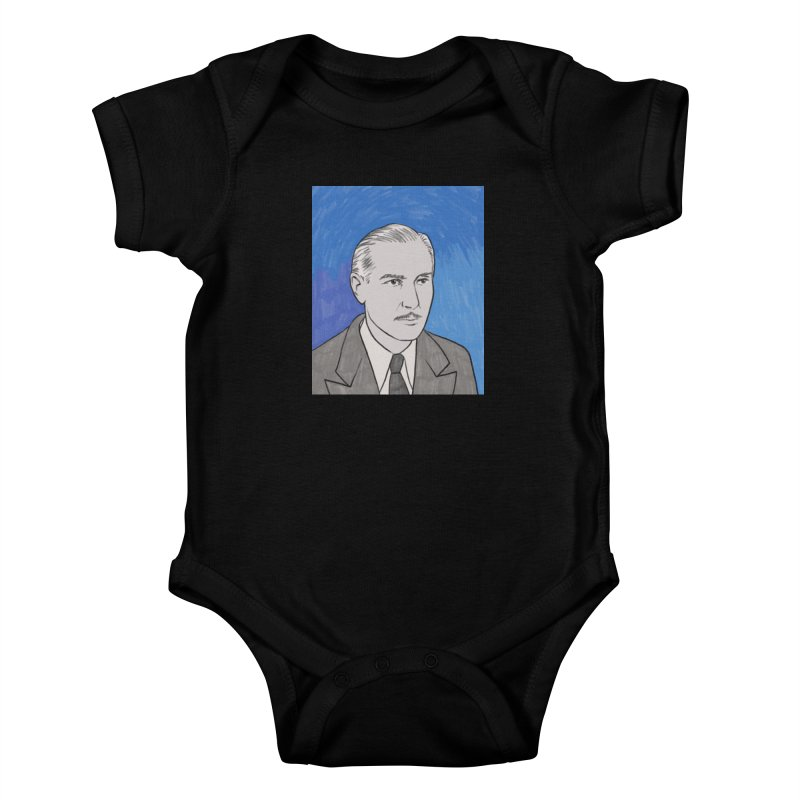 Paul Lukas Kids Baby Bodysuit by Kate Gabrielle's Threadless Shop