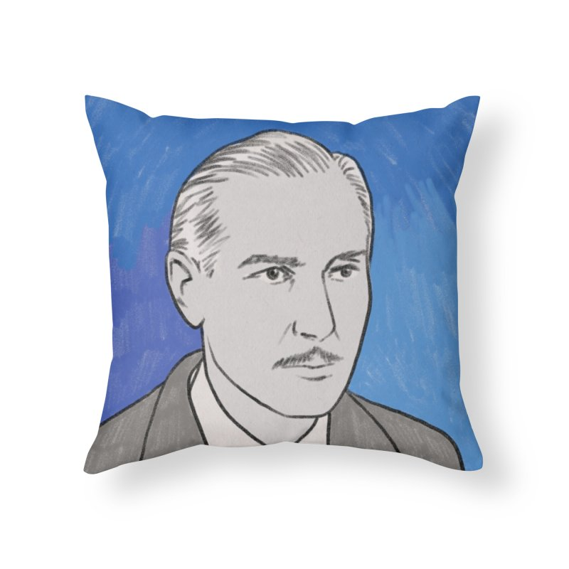 Paul Lukas Home Throw Pillow by Kate Gabrielle's Threadless Shop