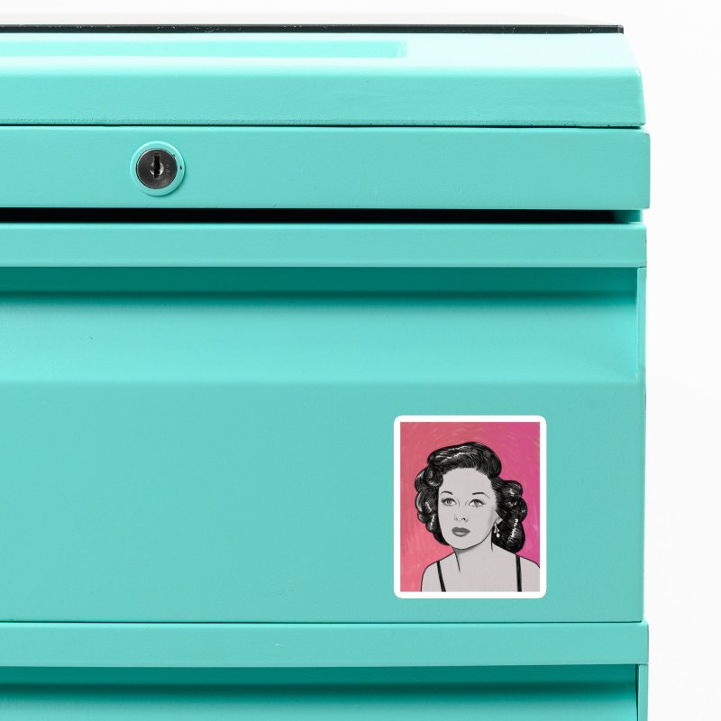 Susan Hayward Accessories Magnet by Kate Gabrielle's Threadless Shop