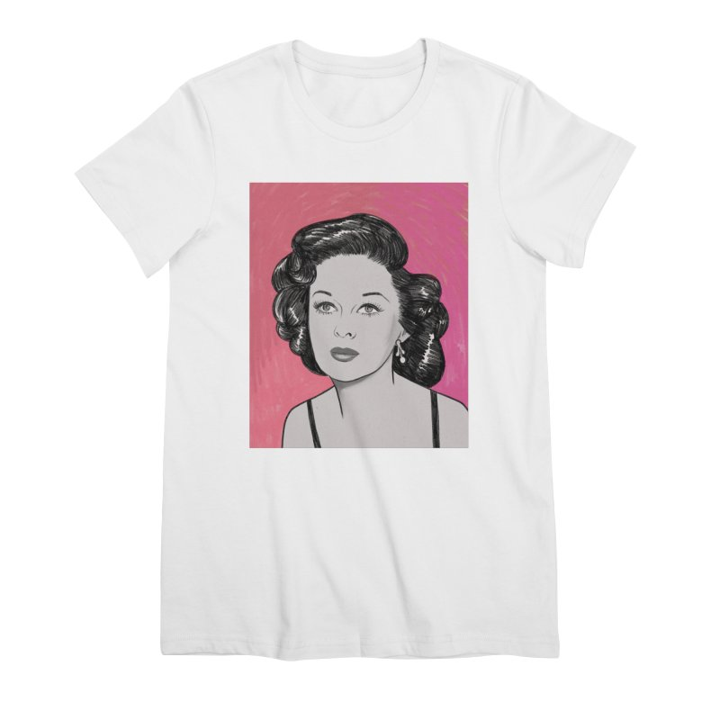 Susan Hayward Women's Premium T-Shirt by Kate Gabrielle's Threadless Shop