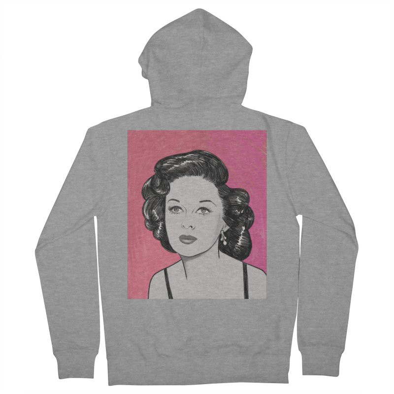 Susan Hayward Men's French Terry Zip-Up Hoody by Kate Gabrielle's Threadless Shop