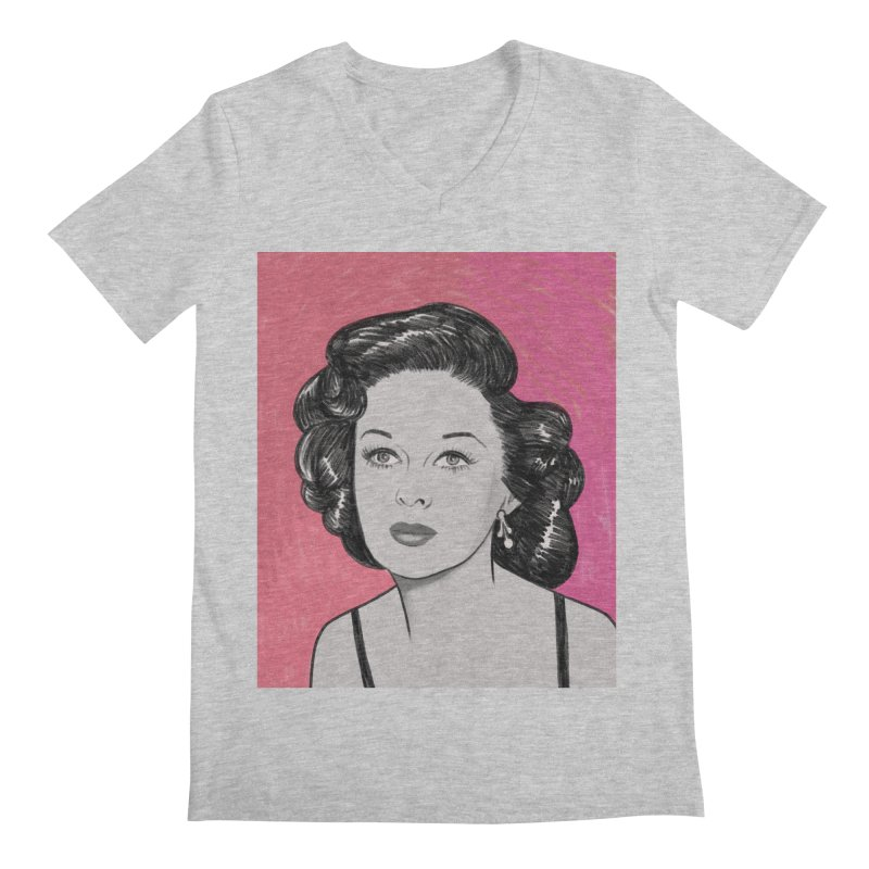 Susan Hayward Men's Regular V-Neck by Kate Gabrielle's Threadless Shop