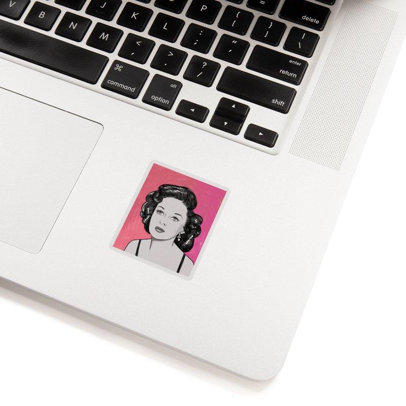 Susan Hayward Accessories Sticker by Kate Gabrielle's Threadless Shop