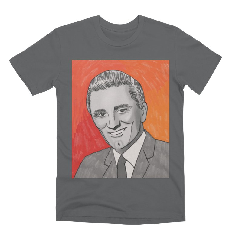 Kirk Douglas Men's Premium T-Shirt by Kate Gabrielle's Threadless Shop