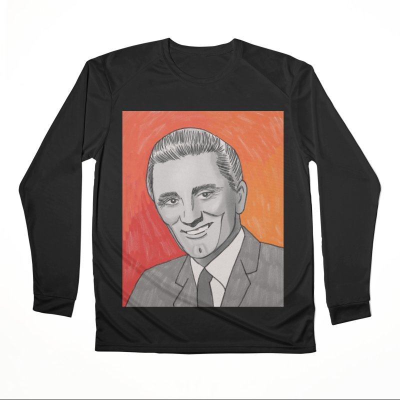 Kirk Douglas Men's Performance Longsleeve T-Shirt by Kate Gabrielle's Threadless Shop