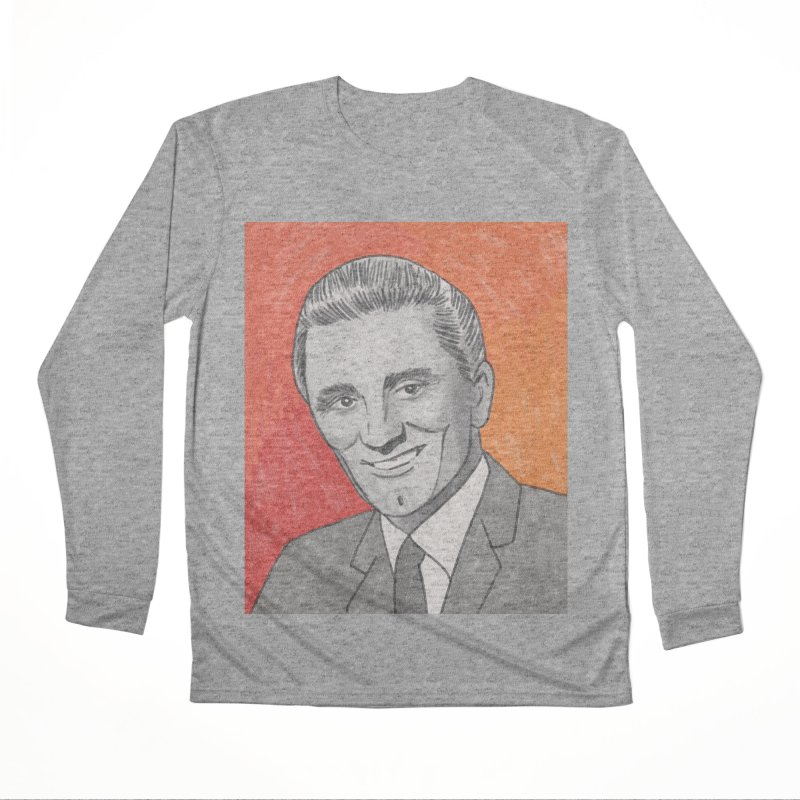 Kirk Douglas Women's Performance Unisex Longsleeve T-Shirt by Kate Gabrielle's Threadless Shop