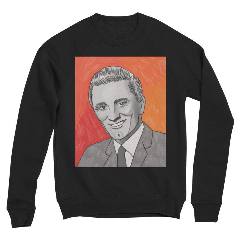 Kirk Douglas Men's Sponge Fleece Sweatshirt by Kate Gabrielle's Threadless Shop