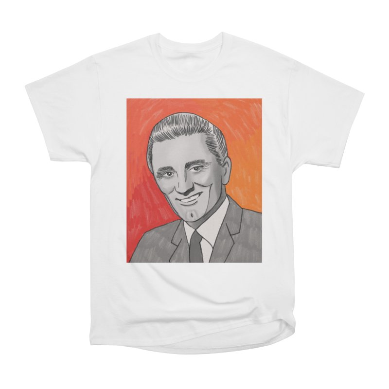 Kirk Douglas Women's Heavyweight Unisex T-Shirt by Kate Gabrielle's Threadless Shop