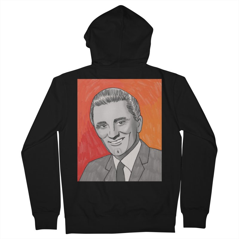 Kirk Douglas Women's French Terry Zip-Up Hoody by Kate Gabrielle's Threadless Shop