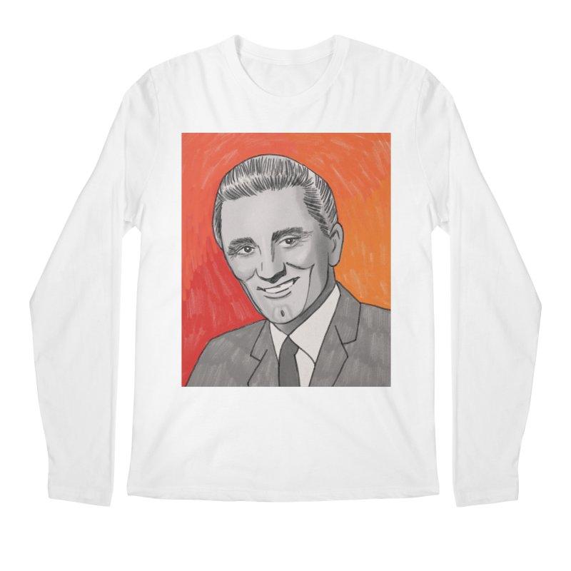 Kirk Douglas Men's Regular Longsleeve T-Shirt by Kate Gabrielle's Threadless Shop