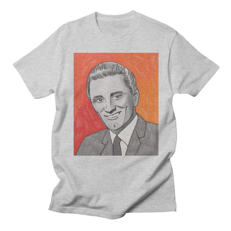 Kirk Douglas Men's Regular T-Shirt by Kate Gabrielle's Threadless Shop
