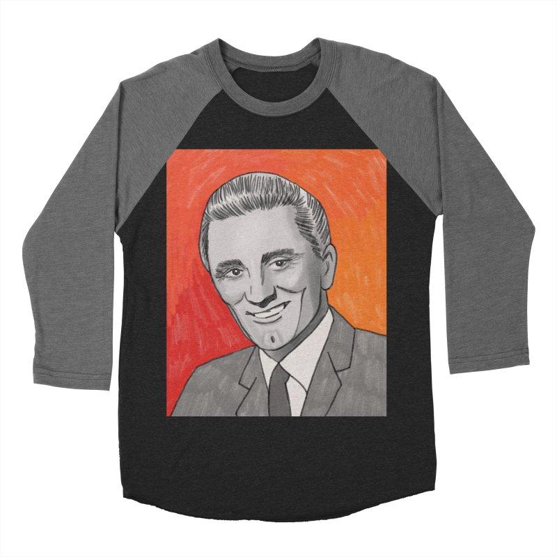 Kirk Douglas Men's Baseball Triblend Longsleeve T-Shirt by Kate Gabrielle's Threadless Shop