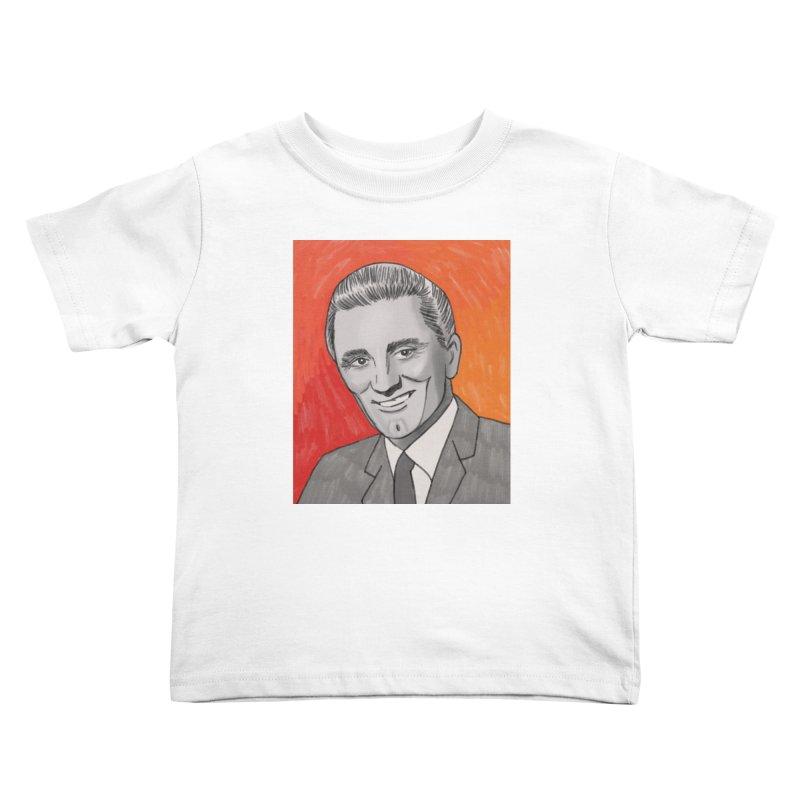 Kirk Douglas Kids Toddler T-Shirt by Kate Gabrielle's Threadless Shop