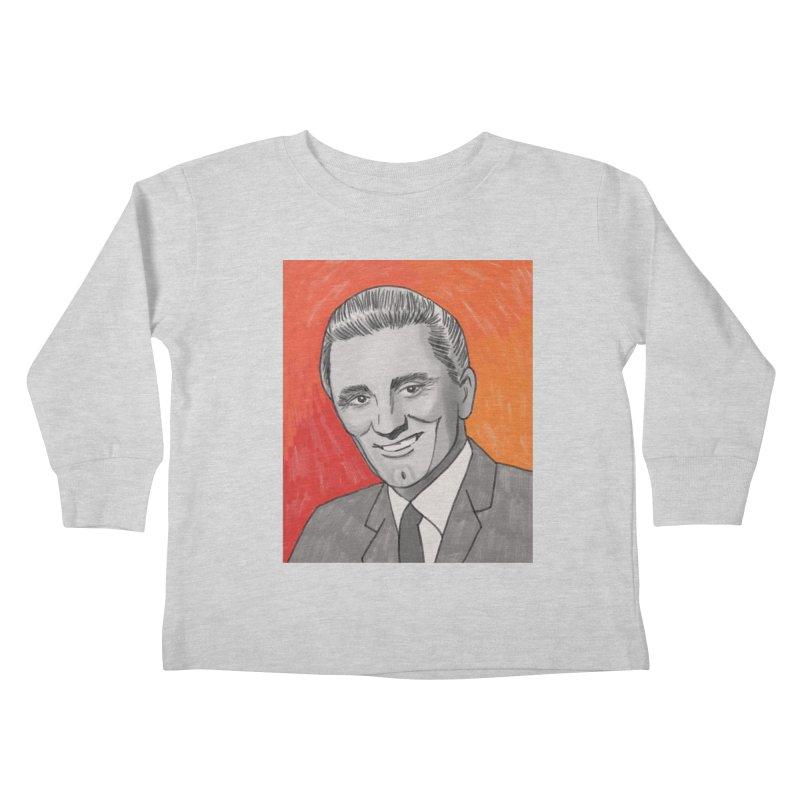 Kirk Douglas Kids Toddler Longsleeve T-Shirt by Kate Gabrielle's Threadless Shop