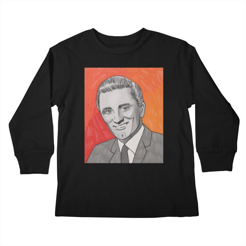 Kirk Douglas Kids Longsleeve T-Shirt by Kate Gabrielle's Threadless Shop