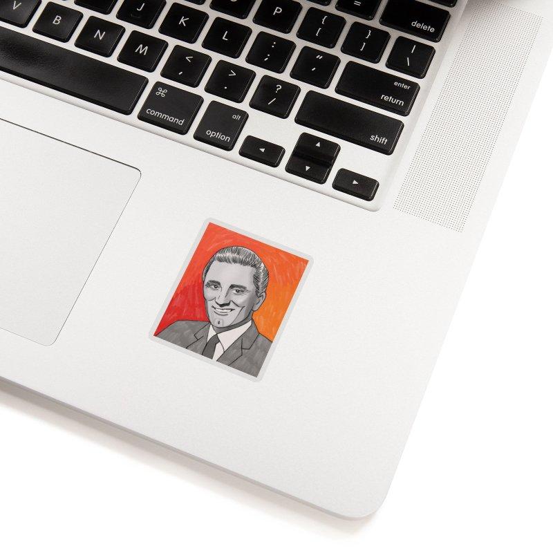 Kirk Douglas Accessories Sticker by Kate Gabrielle's Threadless Shop