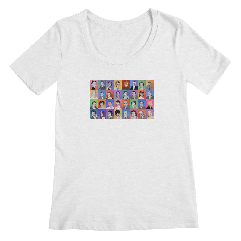 Summer Under the Stars Women's Regular Scoop Neck by Kate Gabrielle's Threadless Shop