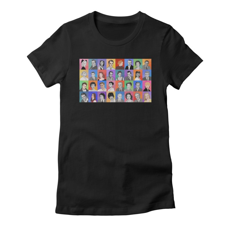 Summer Under the Stars Women's Fitted T-Shirt by Kate Gabrielle's Threadless Shop