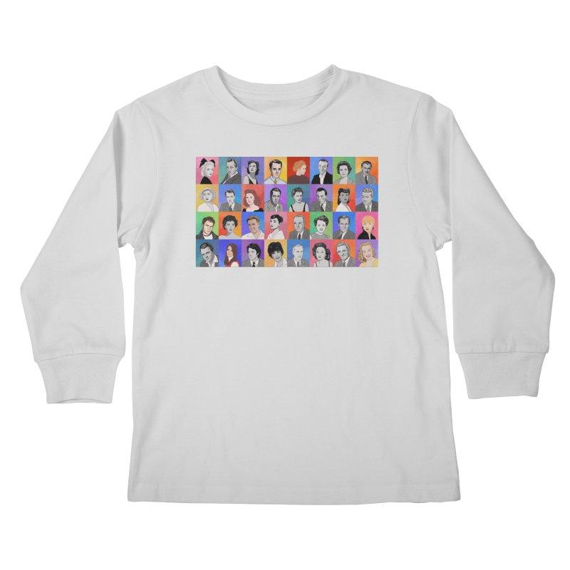 Summer Under the Stars Kids Longsleeve T-Shirt by Kate Gabrielle's Threadless Shop