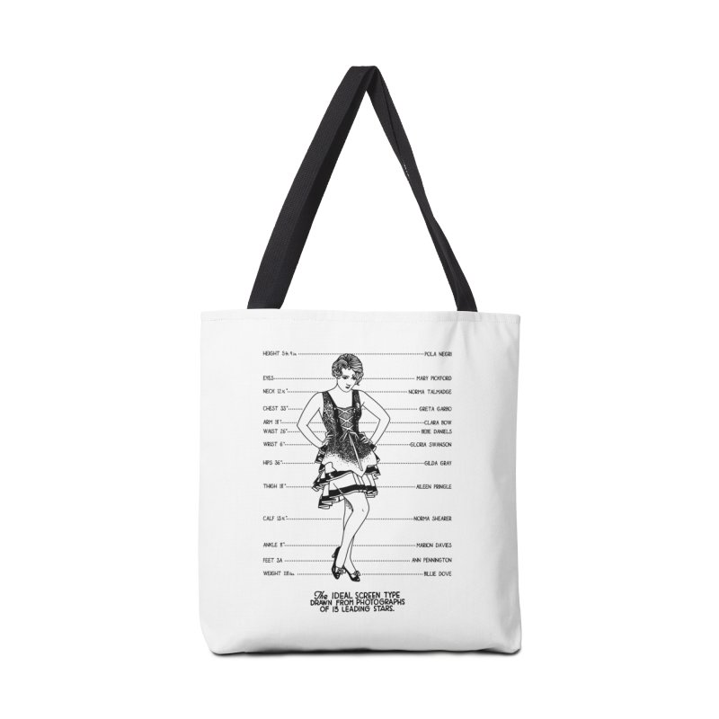 The Ideal Screen Type Accessories Tote Bag Bag by Kate Gabrielle's Threadless Shop