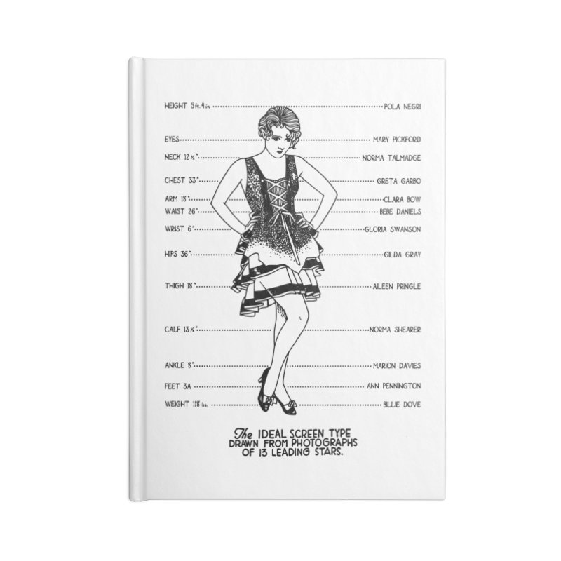 The Ideal Screen Type Accessories Lined Journal Notebook by Kate Gabrielle's Threadless Shop