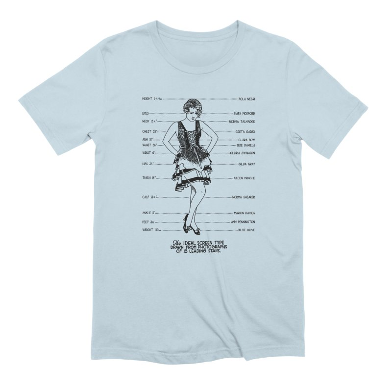 The Ideal Screen Type Men's Extra Soft T-Shirt by Kate Gabrielle's Threadless Shop