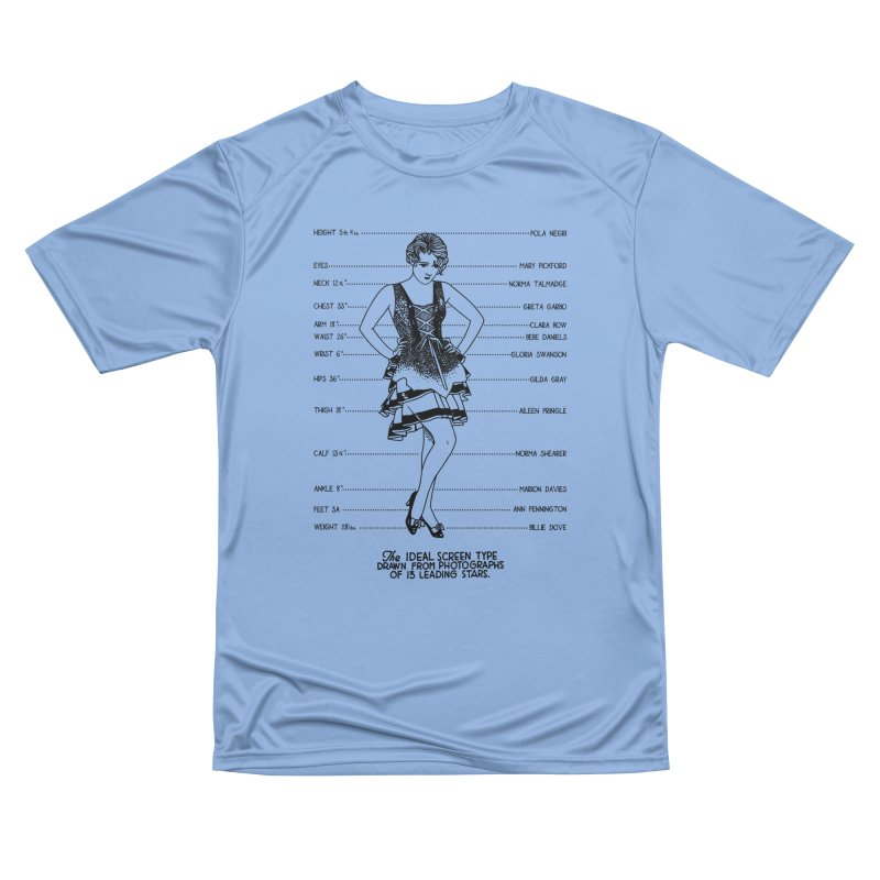 The Ideal Screen Type Women's Performance Unisex T-Shirt by Kate Gabrielle's Threadless Shop