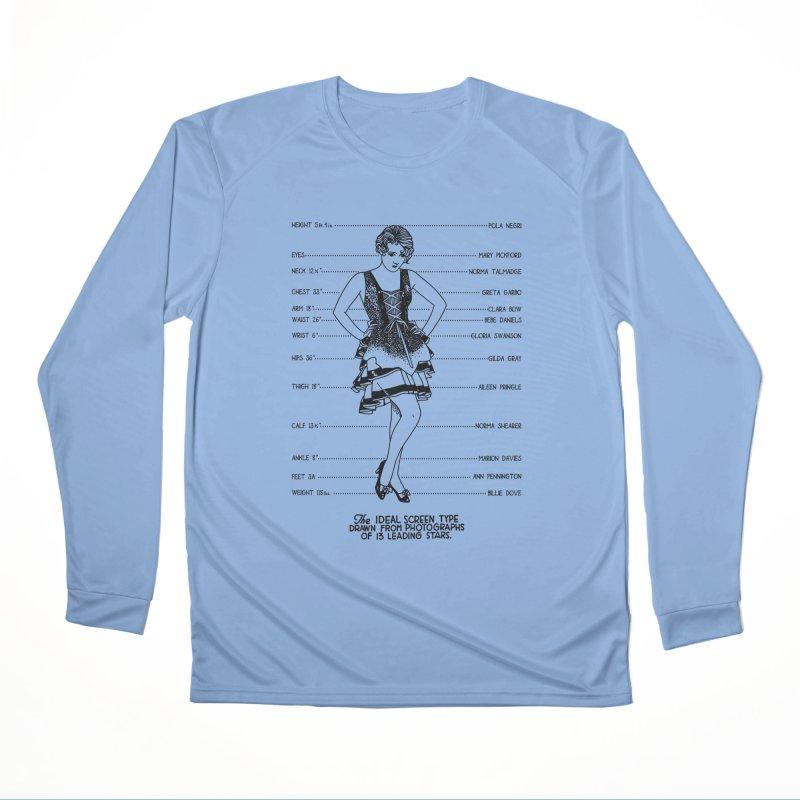 The Ideal Screen Type Women's Performance Unisex Longsleeve T-Shirt by Kate Gabrielle's Threadless Shop