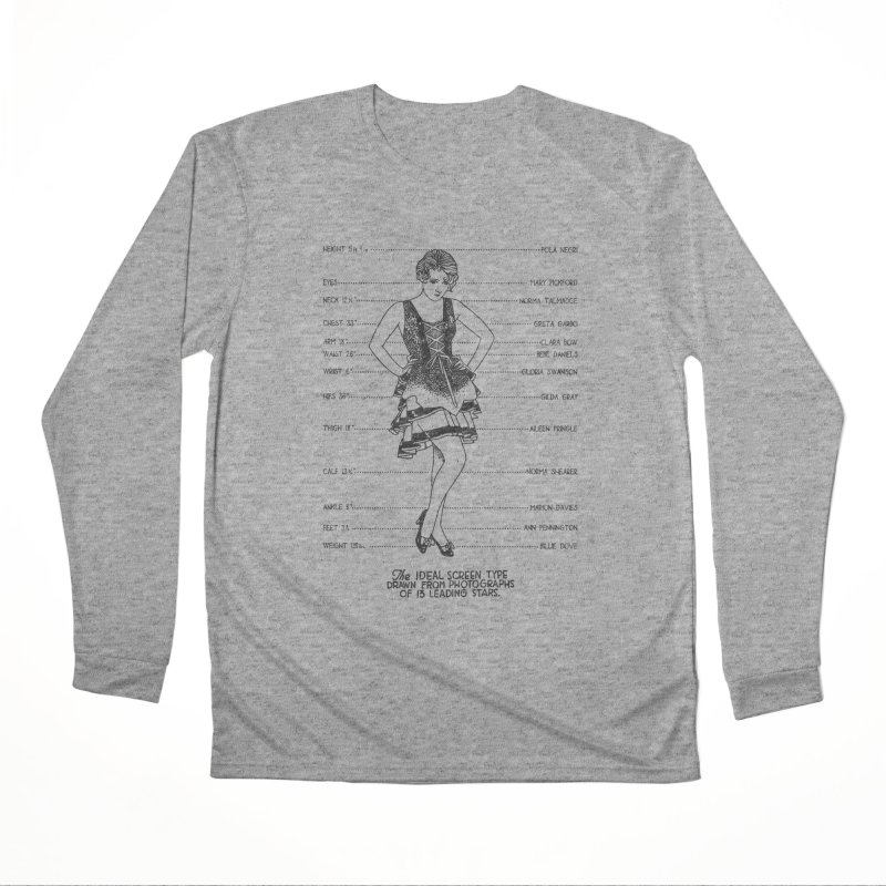 The Ideal Screen Type Women's Performance Unisex Longsleeve T-Shirt by Kate Gabrielle's Threadless Shop