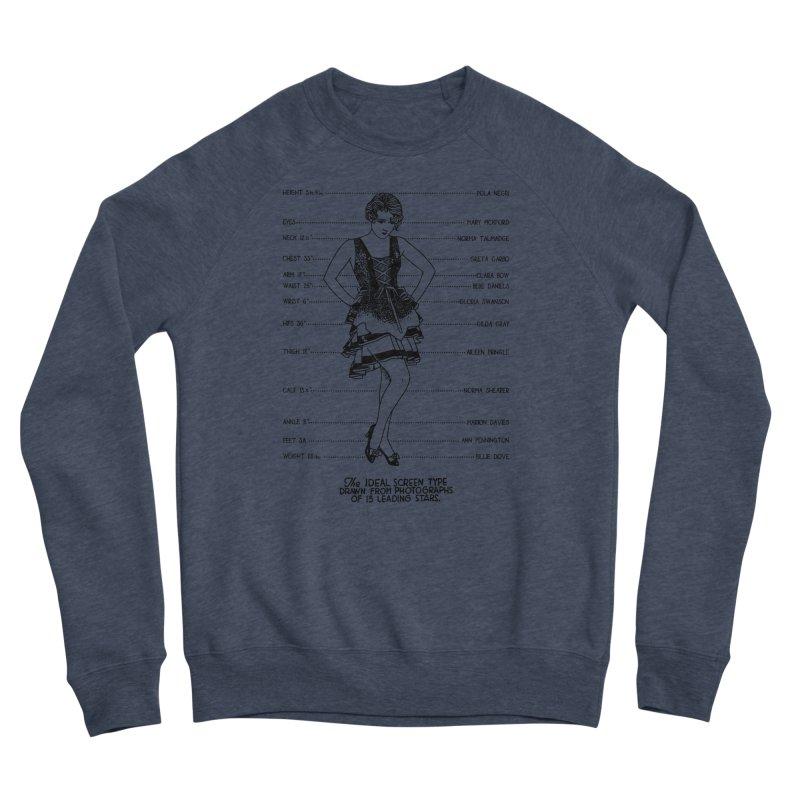 The Ideal Screen Type Women's Sponge Fleece Sweatshirt by Kate Gabrielle's Threadless Shop