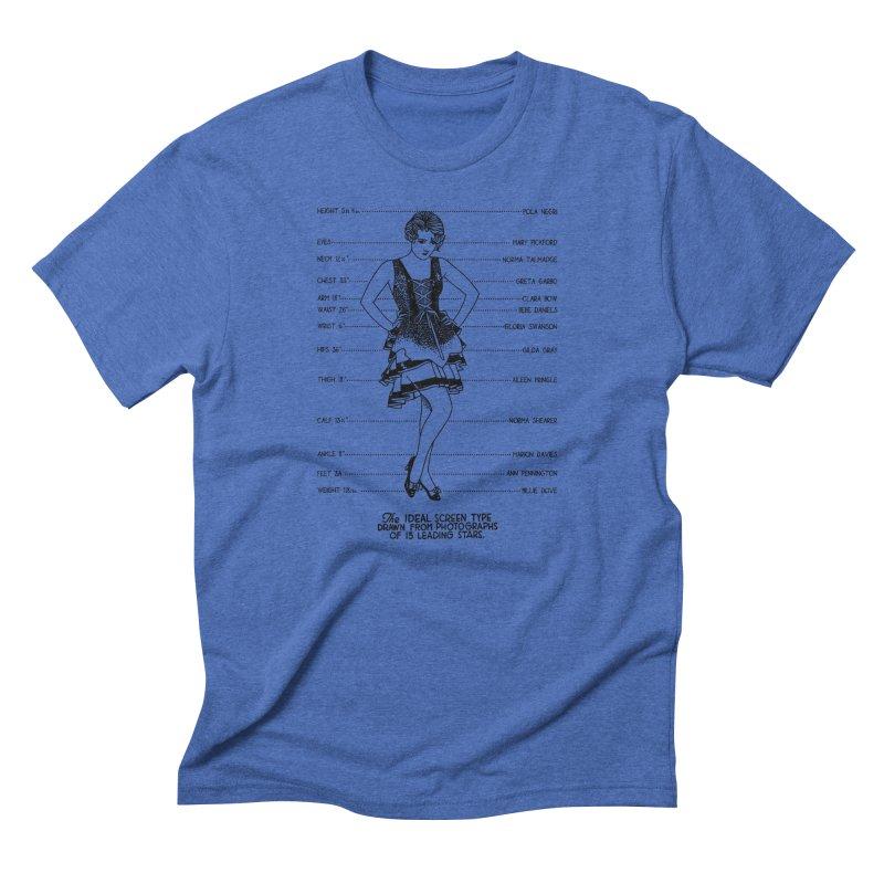 The Ideal Screen Type Men's Triblend T-Shirt by Kate Gabrielle's Threadless Shop