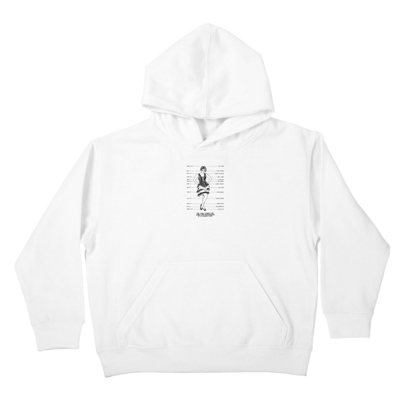 The Ideal Screen Type Kids Pullover Hoody by Kate Gabrielle's Threadless Shop