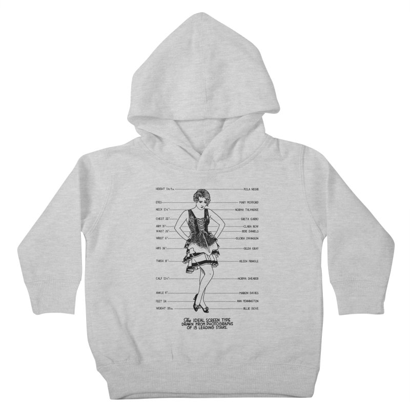 The Ideal Screen Type Kids Toddler Pullover Hoody by Kate Gabrielle's Threadless Shop