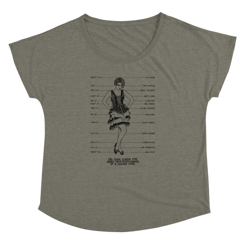 The Ideal Screen Type Women's Dolman Scoop Neck by Kate Gabrielle's Threadless Shop