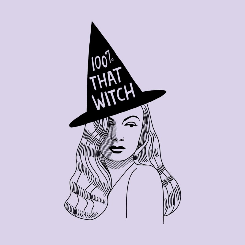 100% that witch Accessories Magnet by Kate Gabrielle's Threadless Shop